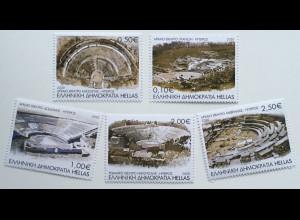 Griechenland Greece 2020 Nr. 3072-76 Antike Theater seit tausend Jahren Tragödie