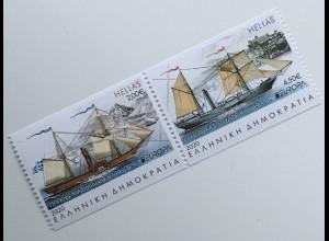 Griechenland Greece 2020 Nr. 3077-78 C Europa Historische Postbeförderung aus MH
