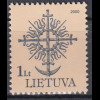 Litauen 2000 Michel Nr. 717 A I-21 A I Geschmiedete Denkmalspitzen