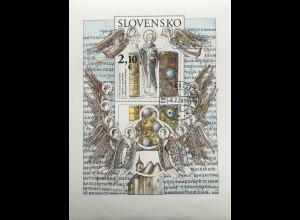 Slowakei Slovakia 2020 Block 57 1150 Jahre Heiliger Methodius Blockausgabe