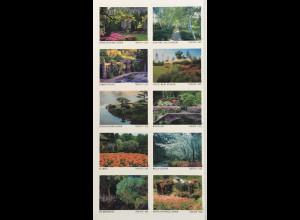 USA Amerika 2020 Neuheit Berühmte Gärten Natur Blumen Flora