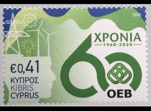 Zypern griechisch Cyprus 2020 Neuheit Gedenktage OEB