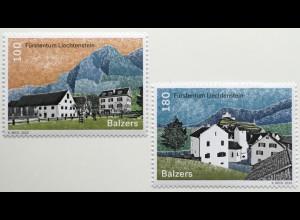 Liechtenstein 2020 Neuheit Dorfansichten des Liechtensteiner Oberlandes Balzers