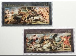 Liechtenstein 2020 Neuheit Fürstliche Schätze - Jagdszenen von Rubens