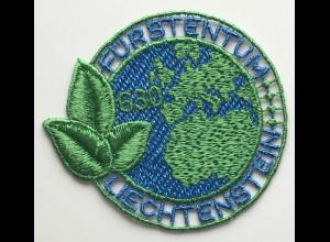 Liechtenstein 2020 Neuheit PET RECYCLING gestickte Briefmarke recycelter Faden