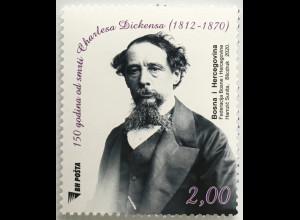 Bosnien Herzegowina 2020 Nr. 792 Charles Dickens englischer Schriftsteller