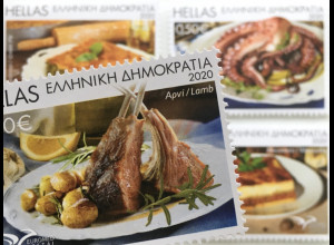 Griechenland Greece 2020 Nr. 3083-86 A EUROMED Traditionelle Gastronomie