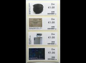 Irland 2020 Neuheit Freimarken Objekte Kochtopf Waschmaschine