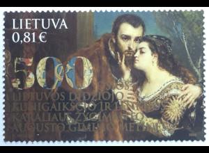 Litauen Lithuania 2020 Neuheit 500. Geburtstag Sigismund Augustus Großfürst