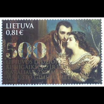 Litauen Lithuania 2020 Nr. 1334 500. Geburtstag Sigismund Augustus Großfürst