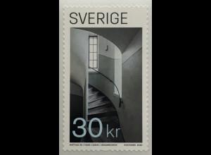 Schweden Sverige 2020 Neuheit Moderne Architektur Spinaltreppe Handwerk