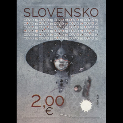 Slowakei Slovakia 2020 Nr. 908 Aktuelle Briefmarke !