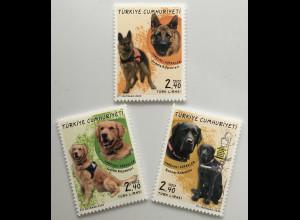 Türkei Turkey 2020 Neuheit Begleithunde Blindenhunde Vierbeinige Helfer