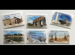 Türkei Turkey 2020 Neuheit Freimarken Patara Tourismus Ausflugsziele Ferienort