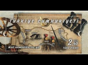 Türkei Turkey 2020 Neuheit 100 Jahre Unabhängigkeit Befreiungskrieg Geschichte