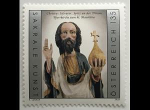 Österreich 2020 Neuheit Christus Salvator Erlöser der Welt Heiland Jesus Christ