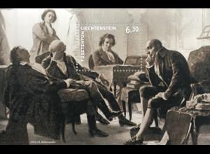 Liechtenstein 2020 Neuheit 250. Geburtstag von Ludwig van Beethoven Genie Musik