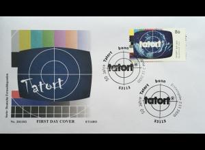 Bund BRD Ersttagsbrief FDC 2.November 2020 Nr. 3572 Tatort Fernsehlegenden