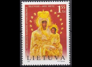 Litauen 2008 Michel Nr. 983 **, 400. Jahrestag der Marienerscheinung von Šiluva