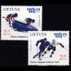 Litauen 2014 Michel Nr. 1150-51 Olympische Winterspiele Sotschi