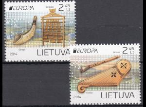 Litauen 2014 Michel Nr. 1161 Schutz der Ostsee