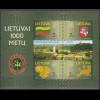Litauen 2001 Block 22 1000 Jahre Litauen