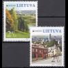 Litauen 2012 Michel Nr. 1103-04 Europa Besuche