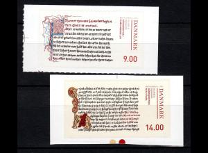 Dänemark 2014 Michel Nr. 1797-98 Handschriften