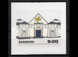 Dänemark 2014 Mi. Nr. 1790 100 Jahre Kunsthaus Den Frie Udstillingsbygning