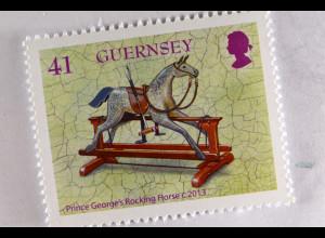 Guernsey 2015 Michel Nr. 1514-19 Spielzeug britischer Königskinder Europa