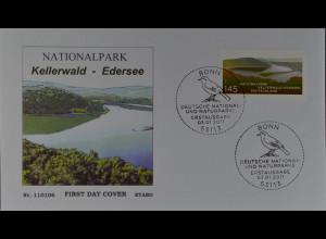 Bund BRD Ersttagsbrief FDC Mi. Nr. 2841, Deutsche National- und Naturparks (X)