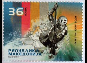 Makedonien 2005 Mi.-Nr. 374 Europameisterschaften im Wildwasser Kanurennsport