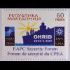 Makedonien 2007 Michel Nr. 437 Sicherheitsforum des EAPC