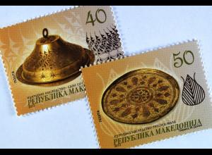 Makedonien 2013 Michel Nr. 648-49 Kulturelles Erbe