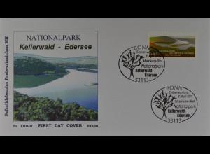 Bund BRD Ersttagsbrief FDC Nr. 2863,Deutsche National- und Naturparks (XI), 2011