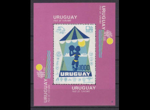 Uruguay 1974, Block 20, Tourismus