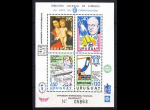 Uruguay 1977, Block 34, Jahresereignisse