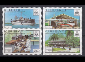 Kiribati 1980, Michel Nr. 349-52, Ansichten