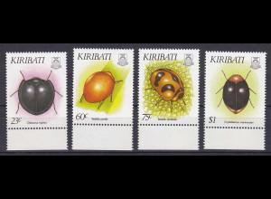 Kiribati 1993, Michel Nr. 607-10, Käfer