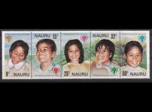 Nauru 1979, Michel Nr. 198-02 ZD, Jahr des Kindes