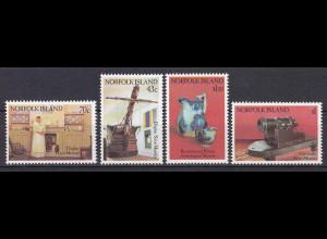 Norfolk 1991, Michel Nr. 502-05, Museen