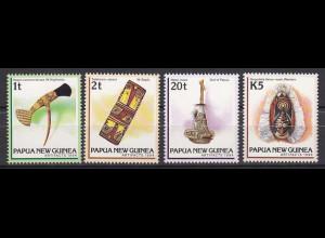 Papua Neuguinea Papua New Guinea 1994, Michel Nr. 725-28, Kunsthandwerk