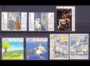 Vatikan 2010, Nr. 1666-72, Pater Matteo Ricci-Missionar, Grablegung Christi ...
