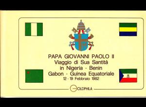 Vatikan, Papstreisebelege - Papst Johannes Paul II 12. - 19.02.1982