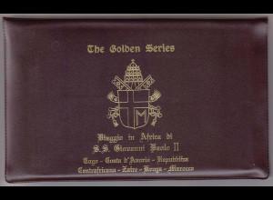 Vatikan, Papstreisebelege - Papst Johannes Paul II 08. - 19.08.1985