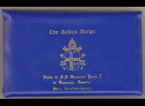 Vatikan Papstreisebelege Papst Johannes Paul II. 26.01. - 06.02.1985