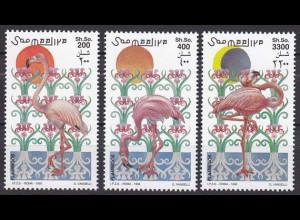 Somalia 1998, Michel Nr. 726-28, Flamingos