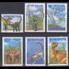 Neuseeland New Zealand, Prähist. Tiere aus den Jahren 1993+1996, siehe Bilder