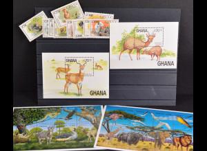 Weltweiter Naturschutz Bongo Ghana Haustiere Truthahn Umwelt Jahrgang 1984-2000