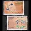 Luxemburg 2003 Michel Nr. 1599-00 Bedeutende Frauen, u. a. Frauenrechtlerin